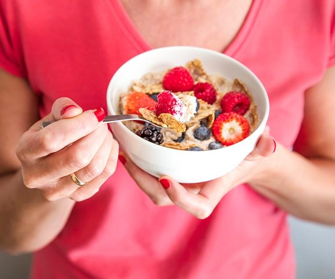 activia yoghurt breakfast