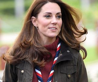 Duchess Catherine just stepped out in something she rarely wears, and she looks incredible