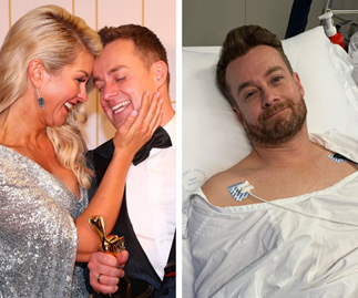 """Chezzi Denyer's heartbreaking update about husband Grant Denyer's injury:  """"It's impossible for him to walk"""""""