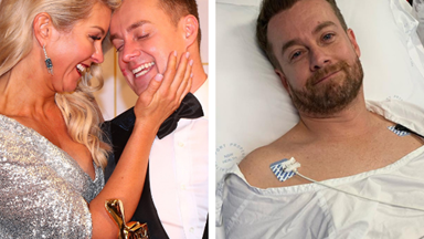"Chezzi Denyer's heartbreaking update about husband Grant Denyer's injury:  ""It's impossible for him to walk"""