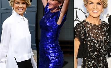 Every time Julie Bishop proved she was the first lady of fashion