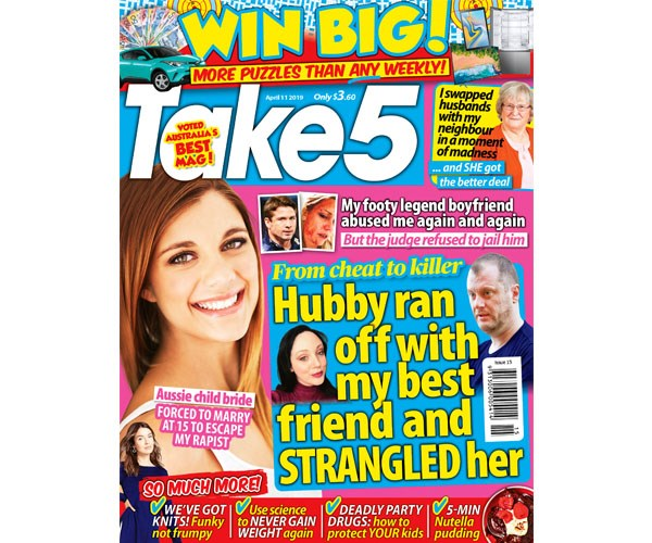 Take 5 Issue 15 Coupon - on sale now!