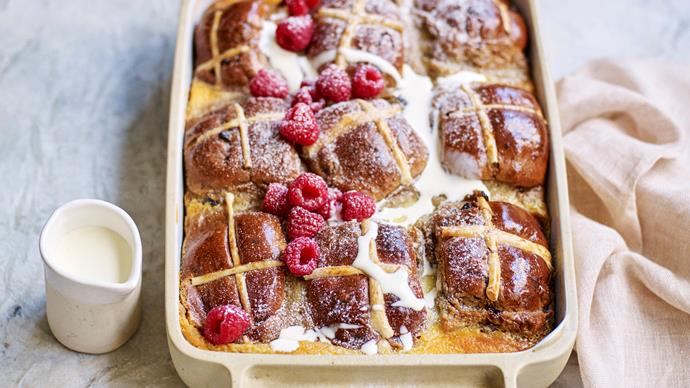 Genius ways to use up leftover hot cross buns