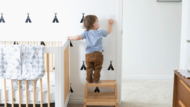 The top five things to consider when purchasing your baby's cot