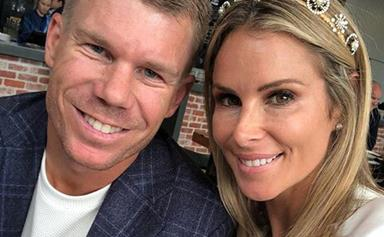 Pregnant Candice Warner shares emotional anniversary tribute to husband David