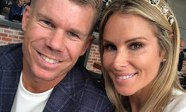 Pregnant Candice Warner shares emotional anniversary tribute to husband David
