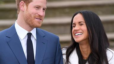 A stunning never-before-seen picture of Duchess Meghan and Prince Harry has just surfaced and it's glorious