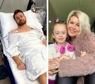Chezzi Denyer's heartbreaking confession as she takes daughter to visit Grant in hospital