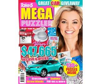 Mega Puzzler Issue 39