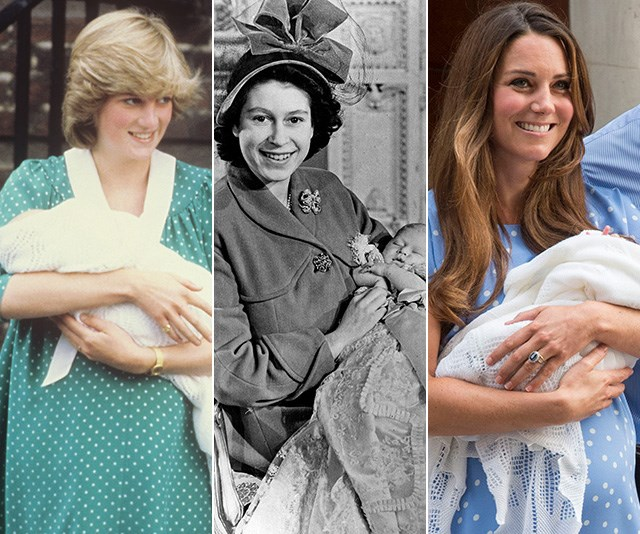 The fascinating way royal births have changed throughout the years