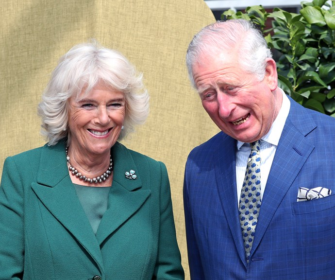 Prince Charles and Camilla share intimate, never-before-seen portrait