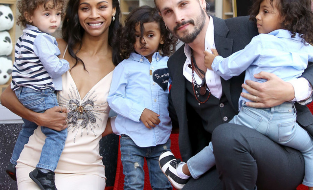 "Zoe Saldana: ""I love complaining about being a mum!"""