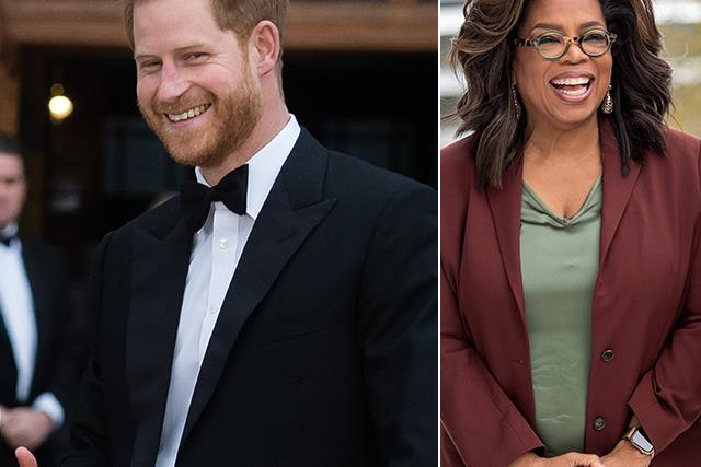 Prince Harry announces an unlikely new gig, and it's with Oprah Winfrey