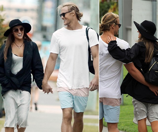 DWTS couple alert! Jett Kenny and Lily Cornish make it official with PDA-packed dispaly