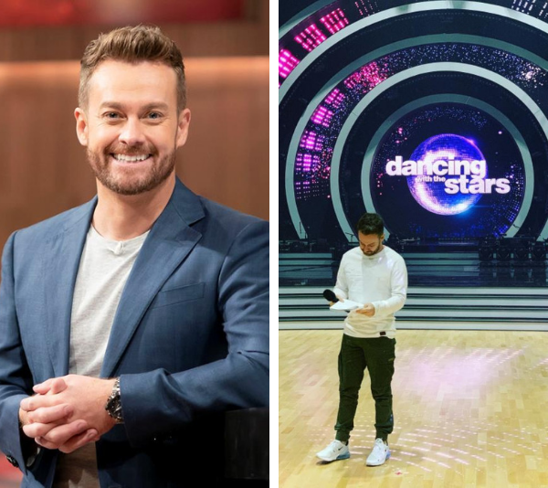 Dancing With The Stars' Grant Denyer heads back to work just days after being discharged from hospital