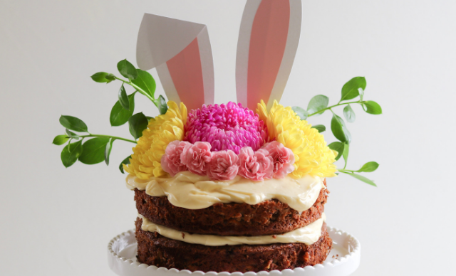 Get festive this long weekend with Fat Mum Slim's mouth-watering, Easter carrot cake