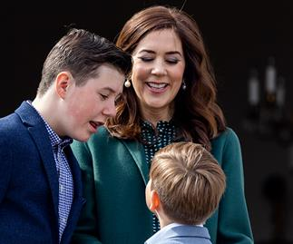 Princess Mary and her family celebrate the Queen's birthday with a rare public singing performance
