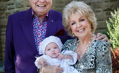 Bert and Patti Newton share rare intimate family portrait