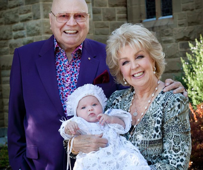 Bert and Patti Newton share rare intimate family portrait