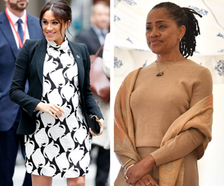 Doria Ragland arrives in the UK ahead of the birth of her first grandchild