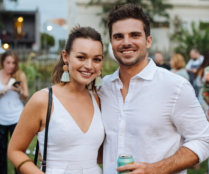MKR's Matt has grown close to Home and Away's Courtney Miller after they went on a secret date