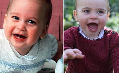 Prince Louis is IDENTICAL to this prominent royal in these rare new pictures