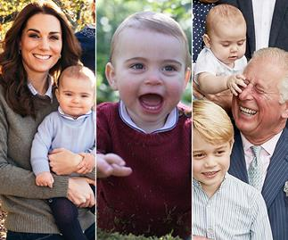 Royal baby album! Relive Prince Louis' cutest moments as he rings in his first big milestone