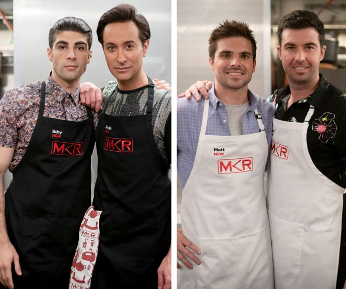 Ibby and Romel go up against Matt and Luke in first all-male MKR Grand-Final