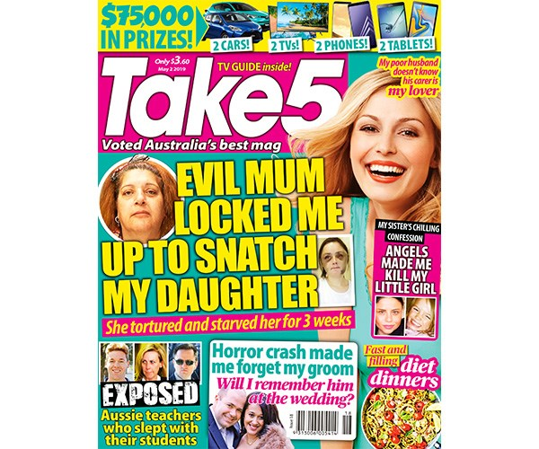 Take 5 Issue 18 Entry Coupon