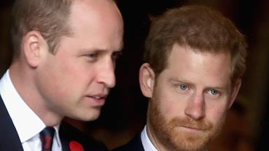 Inside Prince Harry and Prince William's heartbreaking royal feud