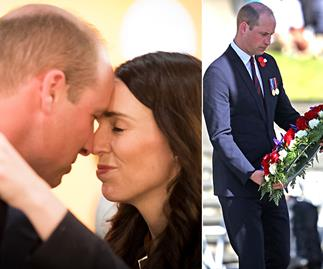 Prince William's touching tribute on Anzac Day hits close to home
