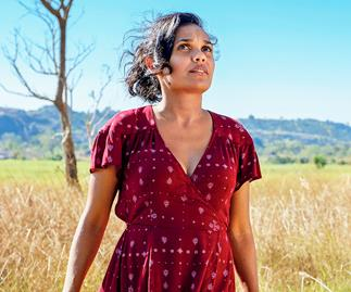 Miranda Tapsell produces, co-writes and stars in Top End Wedding