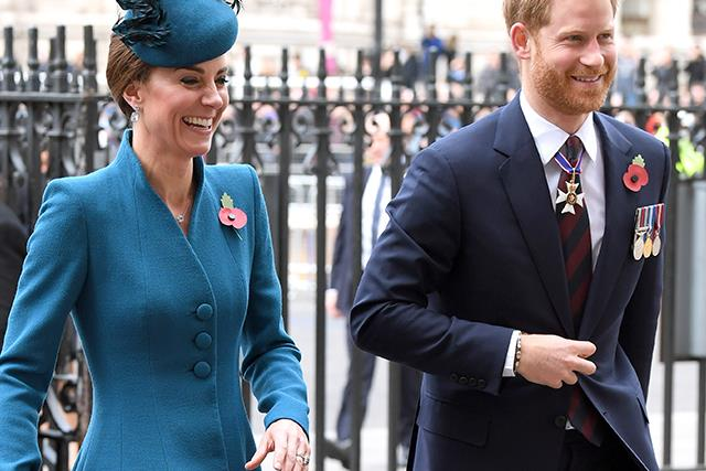 Prince Harry and Duchess Catherine's sweet moment captured during a rare joint appearance