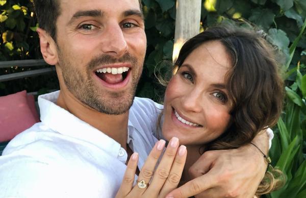 Bachelor wedding bells! Matty J and Laura Byrne announce surprise engagement