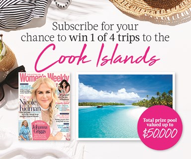 Subscribe to The Australian Women's Weekly magazine for your chance to WIN