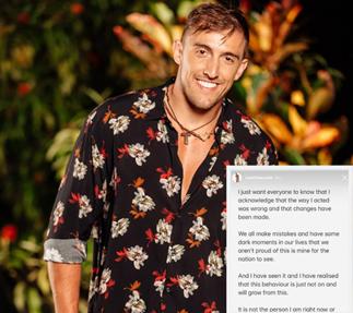 "Bachelor in Paradise star Ivan Krslovic ""ashamed"" of his behaviour on the show"