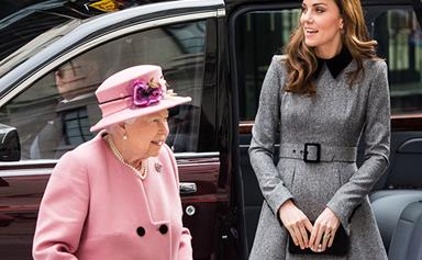 The Queen has bestowed a very special gift to Duchess Catherine