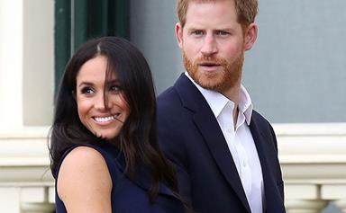 Did the Palace accidentally just reveal the name and gender of Baby Sussex!? Royal fans spot HUGE giveaway