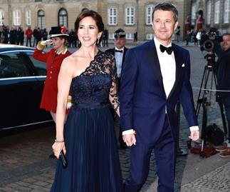 Crown Princess Mary puts on a dazzling display at Princess Benedikte's 75th birthday bash
