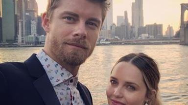 Luke Mitchell credits his wife Rebecca Breeds with helping bring him international success
