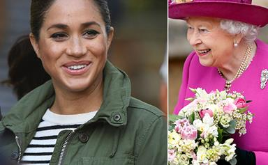 The Queen just visited Duchess Meghan at Frogmore Cottage, confirming a big clue about Baby Sussex