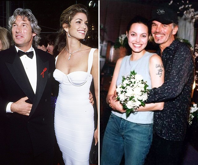 Going to the chapel! Nine celebrity couples who tied the knot in Las Vegas