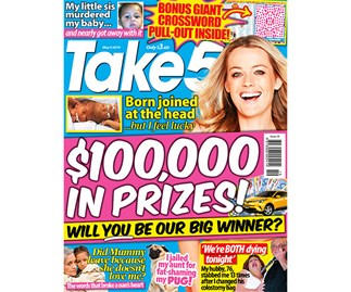 Take 5 Issue 19 Entry Coupon