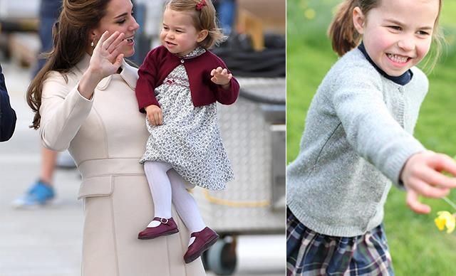 NEW ROYAL PICS: The Palace just dropped THREE new photos of Princess Charlotte and she's SO grown up!