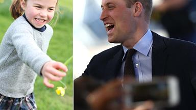 Prince William just let slip the VERY unexpected way Princess Charlotte will celebrate her birthday