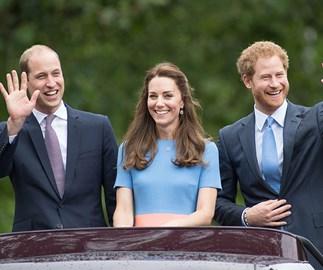 Prince William, Duchess Catherine, Prince Harry