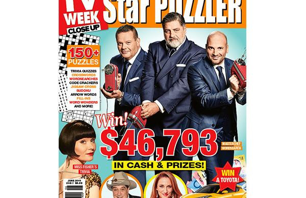 TV Week Star Puzzler Issue 2