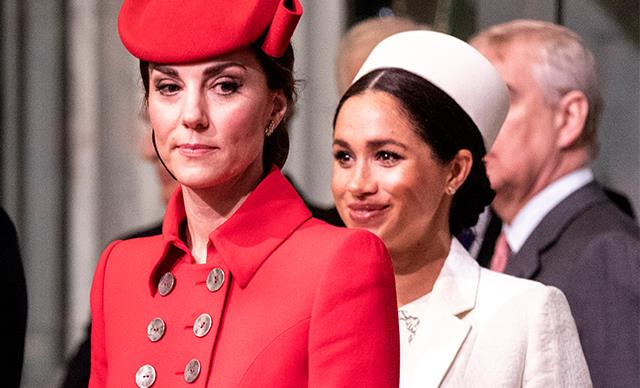 Is the feud over? This VERY big event could bring Meghan and Kate together, according to a fashion legend
