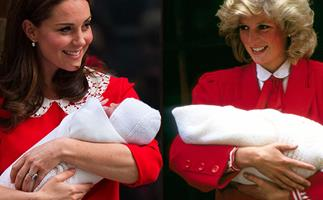 Prince William, Prince George and Duchess Catherine