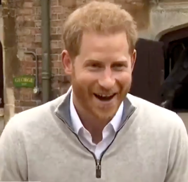NEW VIDEO: Joyful Prince Harry shares candid details about baby names and first photos after welcoming the Royal Baby